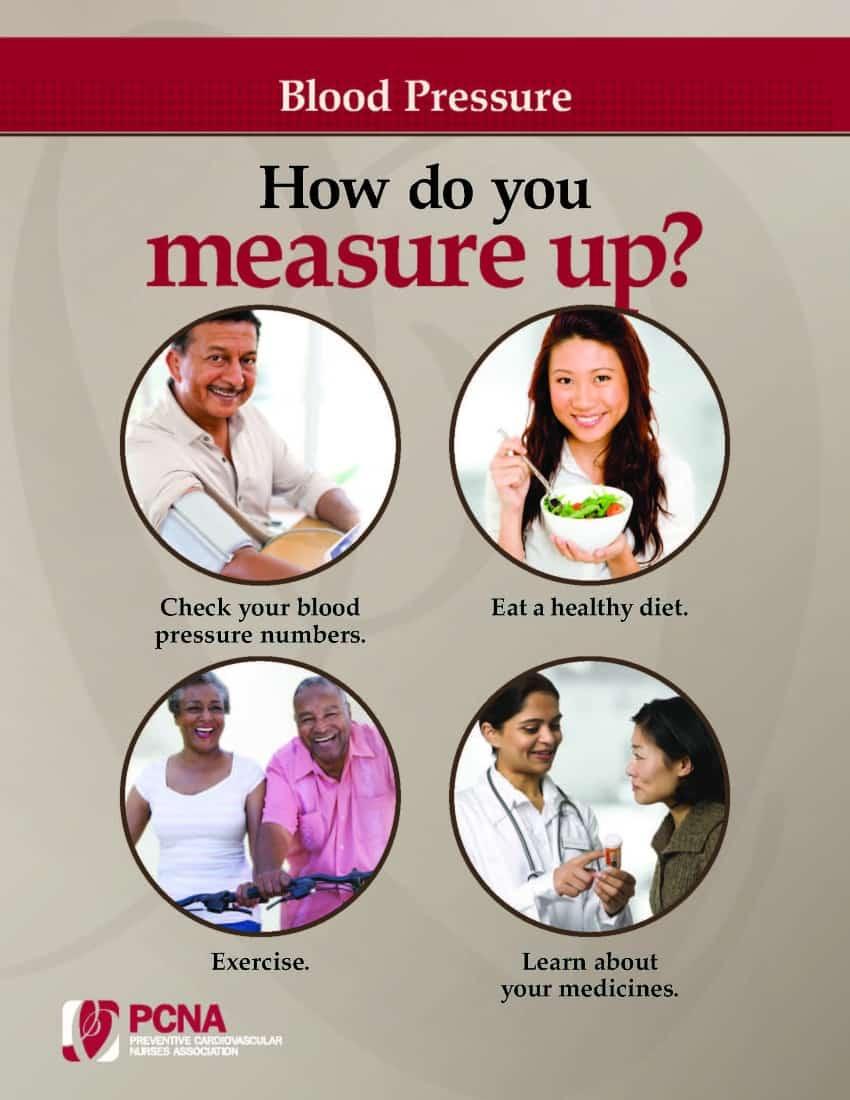 Hypertension Brochure Cover