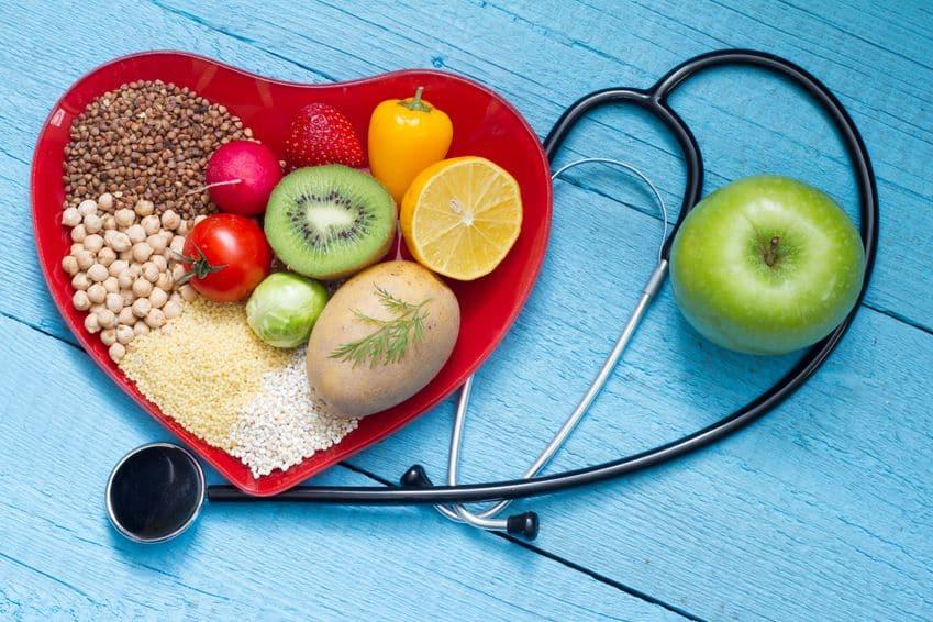heart food stethescope