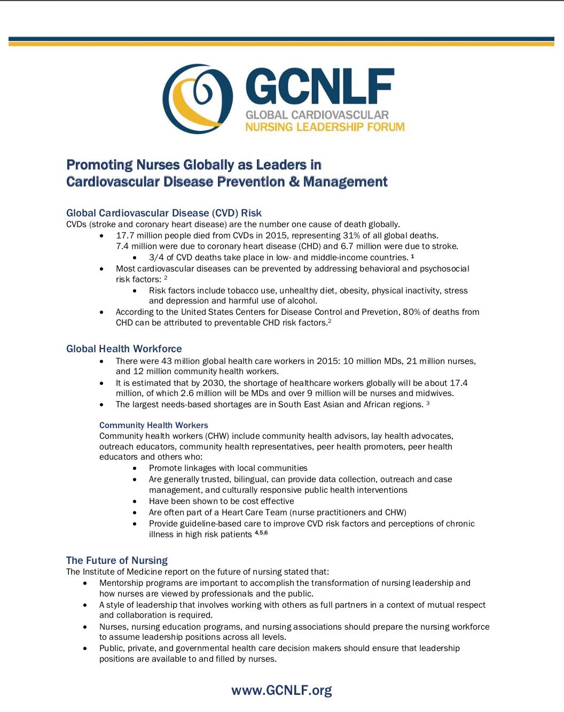GCNLF Guidance Document