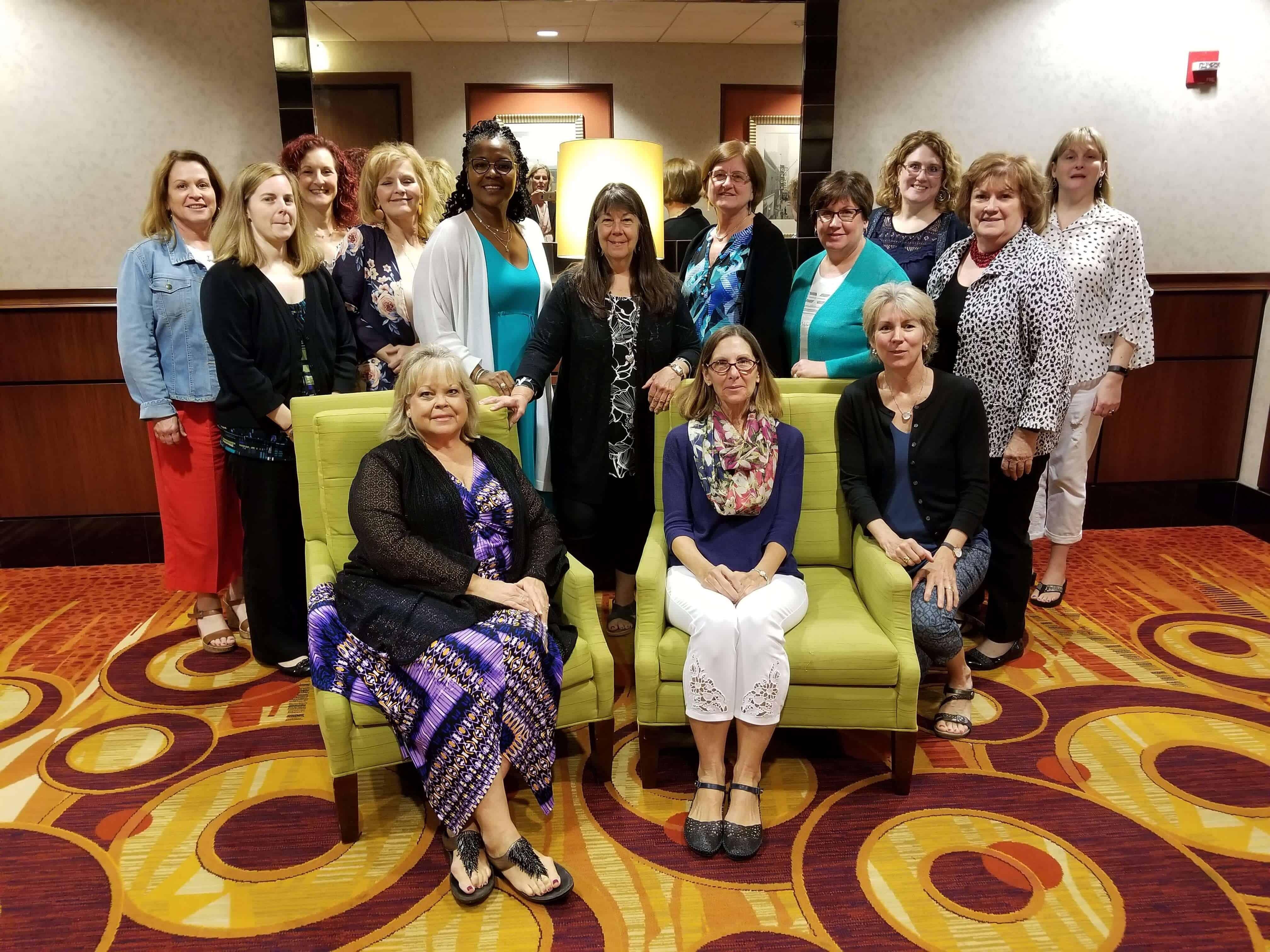 group photo of PCNA nurse leaders