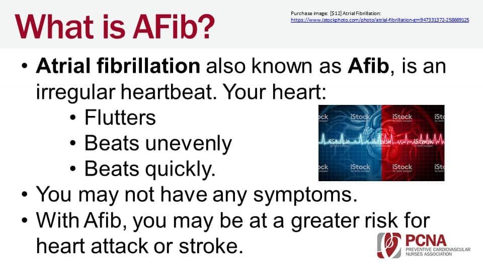 AFib Patient Education Slides