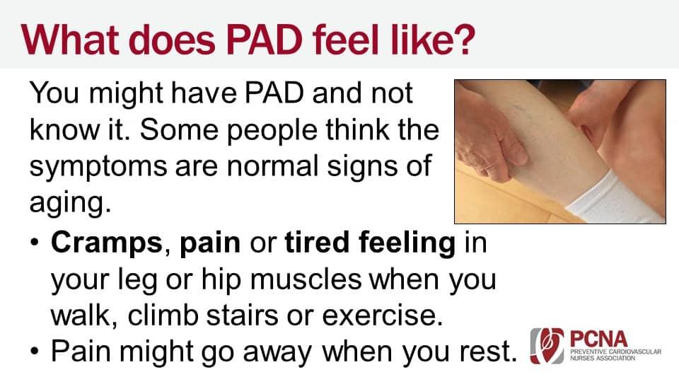 PAD Patient Education Slides FINAL web & projector version