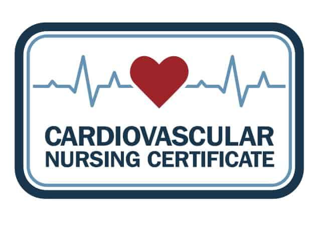 Cardiovascular Nursing Certificate logo